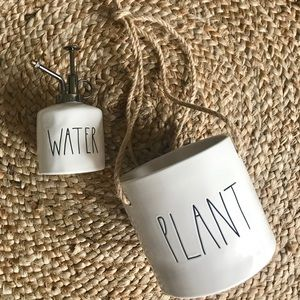 Rae Dunn Planter and Water Mister